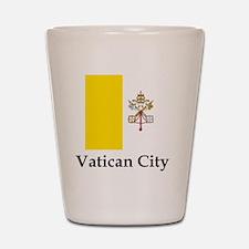 Vatican City Flag Shot Glass
