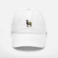 Zentangle Sheep Baseball Baseball Cap