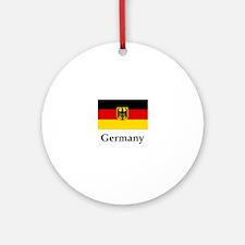 Germany Flag #2 Round Ornament