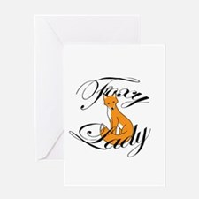 Foxy Lady Greeting Cards