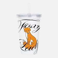 Foxy Lady Acrylic Double-wall Tumbler