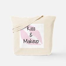 Kiss and Makeup Tote Bag