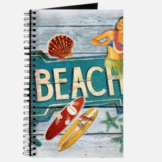 hipster surfer hawaii beach Journal