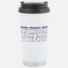 Cute Sudoku Travel Mug