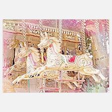 Merry-go-round pink