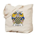 Ansurez Family Crest Tote Bag