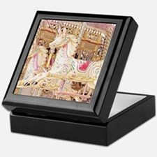 Merry-go-round pink Keepsake Box