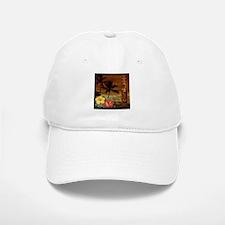 totem Hawaiian Hibiscus Flower Baseball Baseball Cap