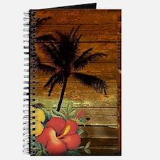 totem Hawaiian Hibiscus Flower Journal