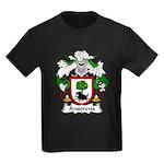 Ansorena Family Crest Kids Dark T-Shirt