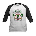 Ansorena Family Crest Kids Baseball Jersey