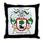 Ansorena Family Crest Throw Pillow