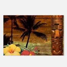 totem Hawaiian Hibiscus F Postcards (Package of 8)