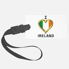 I HEART IRELAND Luggage Tag