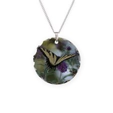 swallow tail with lacy flowers.png Necklace
