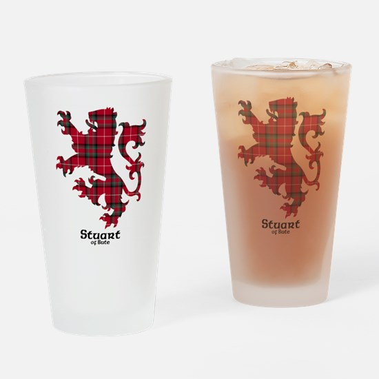 Lion-StuartBute Drinking Glass