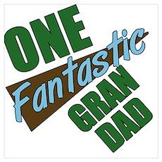 One Fantastic Grandad Poster