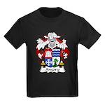 Angosto Family Crest Kids Dark T-Shirt