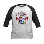 Angosto Family Crest Kids Baseball Jersey