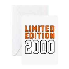 Limited Edition 2000 Greeting Card