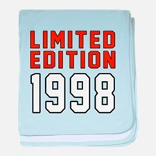 Limited Edition 1998 baby blanket