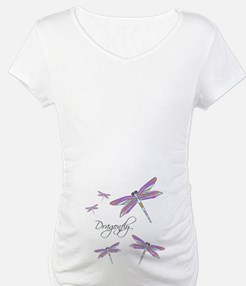 Dragonfly Flowers Shirt