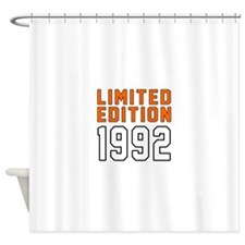 Limited Edition 1992 Shower Curtain