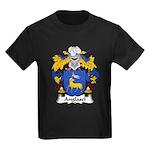 Anglasel Family Crest Kids Dark T-Shirt