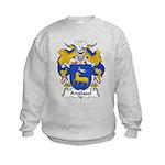 Anglasel Family Crest Kids Sweatshirt