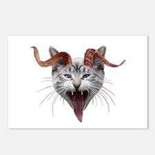 Krampus Cat Postcards (Package of 8)