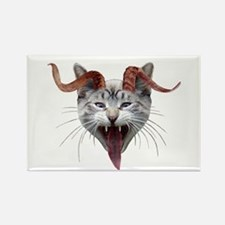 Krampus Cat Rectangle Magnet