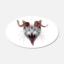 Krampus Cat Wall Decal