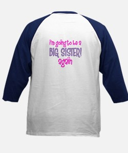 guess what big sister again Kids Baseball Jersey