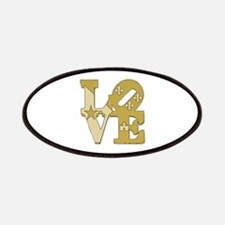 love gold Patch