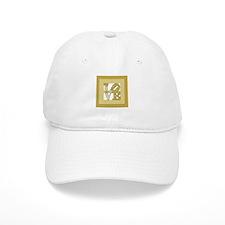 LOVE GOLD FRAMED Baseball Baseball Cap