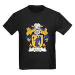 Angel Family Crest Kids Dark T-Shirt