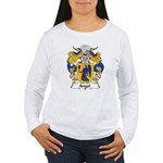 Angel Family Crest Women's Long Sleeve T-Shirt