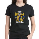 Angel Family Crest Women's Dark T-Shirt