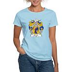 Angel Family Crest Women's Light T-Shirt