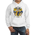 Angel Family Crest Hooded Sweatshirt