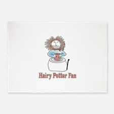 hairypottercolor.png 5'x7'Area Rug