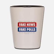 Fake News - Franklin Quote Shot Glass