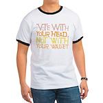 Liberal Voter Ringer T Shirt