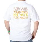 Liberal Voter Golf Shirt