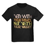 Liberal Voter Kids T Shirt (Dark)