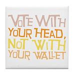 Liberal Voter Tile Drink Coaster