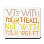 Liberal Voter Mousepad