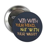 Liberal Voter Buttons (10 pk)