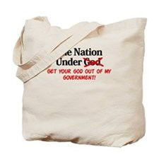 Separation of Church and Stat Tote Bag