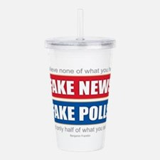 Fake News - Franklin Q Acrylic Double-wall Tumbler